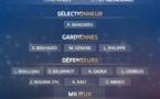 Bleues - Les 23 joueuses retenues pour ROUMANIE - FRANCE et FRANCE - UKRAINE