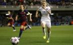 La meilleure buteuse de l'histoire de la Coupe d'Europe, Anja Mittag, sera peut-être la joueuse décisive (photo PSG)