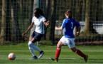 Ouleymata Sarr a inscrit le dernier but de l'équipe de France B (photo Sébastien Duret)