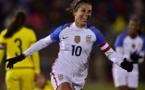 Un but et deux passes décisives pour Carli Lloyd (photo USSoccer)