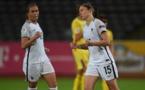 Elise Bussaglia a inscrit le seul but sur penalty (photo UEFA.com)