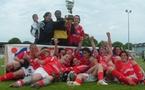Les Blanquefortaises remportent la Coupe (photo : ESB)