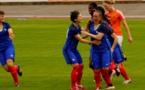 Les Françaises ont ouvert le score précocément par Julie Machart ! (photo Sébastien Duret)