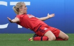 Ada Hegerberg a marqué son 13e but lors de la finale (photo UEFA.com)