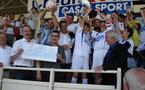 Juillard avec le trophée (Photo : LAF)