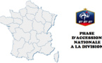 Phase Accession Nationale (2e tour retour) - TOULON, CLERMONT, CAEN AG, BREST, BOULOGNE, METZ ESAP promus en D2