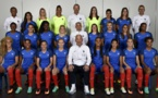 Les Bleues lors de la photo officielle (photo AFP)