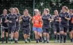 Les Lorientaises (photo) et les Lilloises ont été les premières du groupe A à reprendre l'entraînement (photo FC Lorient)