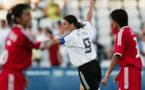 Prinz lors du match le plus prolifique de l'histoire des Jeux (8-0) face à la Chine