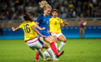 #Rio 2016 - JO - Les réactions des Bleues après FRANCE - COLOMBIE (FFF TV)