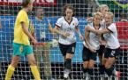 Bartusiak est venue prêtée main forte pour égaliser en fin de match (photo DFB)