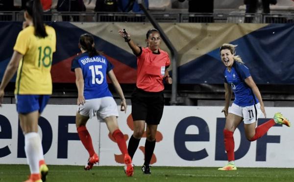 Bleues - Les réactions des joueuses après FRANCE - BRESIL