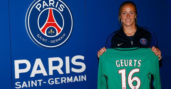 D1F - Le PSG recrute la gardienne néerlandaise Loes GEURTS