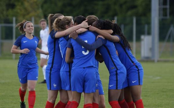 U17 - Les 18 joueuses retenues pour le tour qualificatif