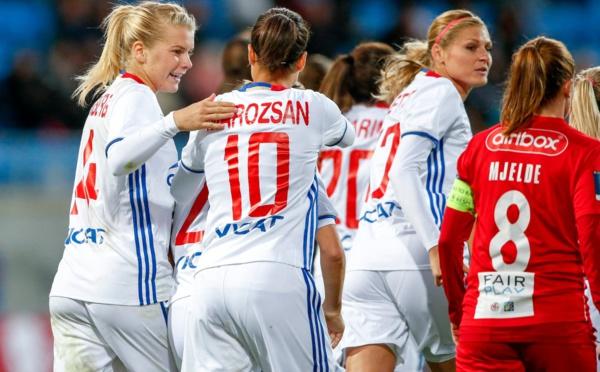 Ligue des Champions (Seizièmes) - LYON s'impose malgré deux buts encaissés (5-2)