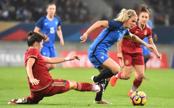 Bleues - Succès face à l'ESPAGNE (1-0) pour terminer l'année
