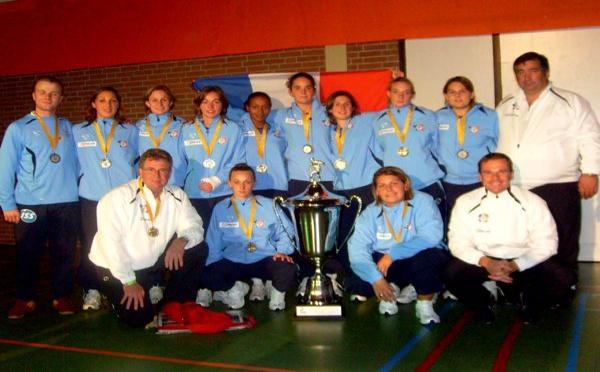 La Police Française remporte un tournoi international en salle