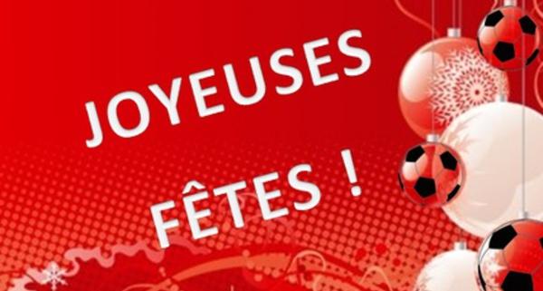 Joyeuses Fêtes à tou(te)s les amoureux(ses) du Football au Féminin!