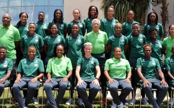 Bleues - La liste des joueuses de l'AFRIQUE DU SUD