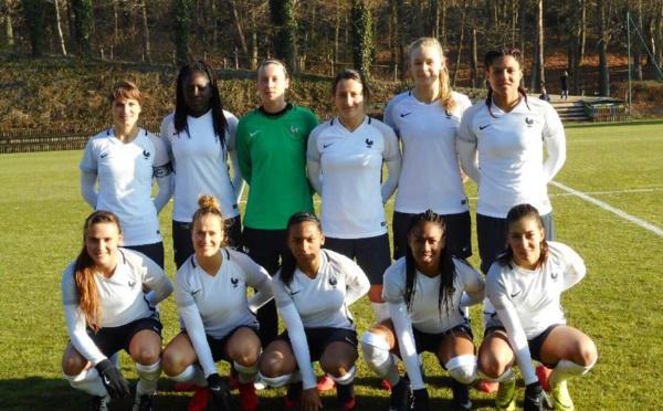 FRANCE B - Deuxième rencontre face à l'équipe B de BELGIQUE
