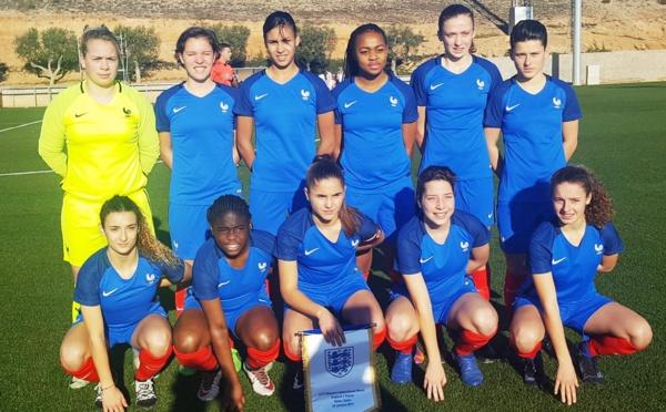 U17 - Succès de la FRANCE face à l'ANGLETERRE (2-0)