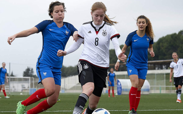 U17 - Lourde défaite face à l'ALLEMAGNE (2-7)