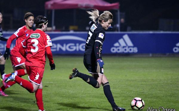 Coupe de France (16es) - LYON s'impose devant GRENOBLE (5-0)