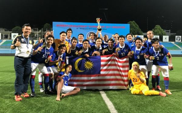 International - Résultats des amicaux : MALAISIE remporte le tournoi de développement