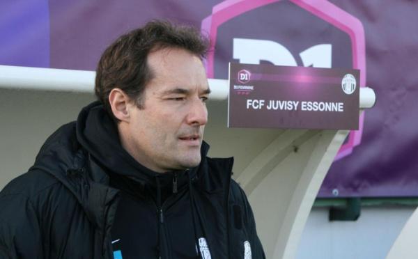 """#D1F - Emmanuel BEAUCHET (FCF Juvisy) : """"Ce sont des étapes riches d'enseignements"""""""
