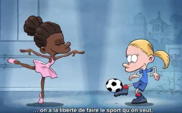 Gouvernement - La liberté de pratiquer le sport que l'on veut...le foot au féminin en évidence