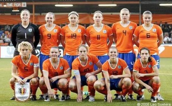 La sélection hollandaise pour France - Pays-Bas