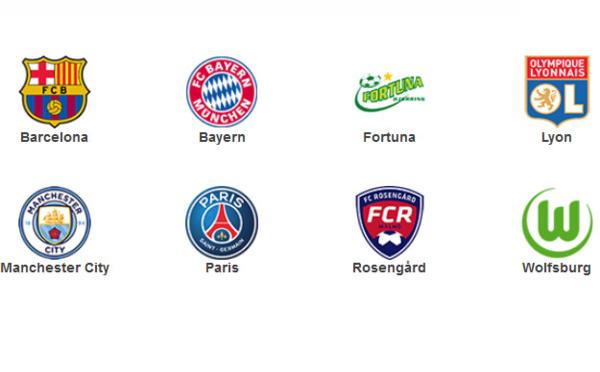 Ligue des Champions - La présentation des quarts de finale en chiffres