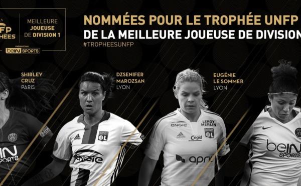 #TropheesUNFP - Les nommées pour le titre de meilleure joueuse et meilleure espoir connus