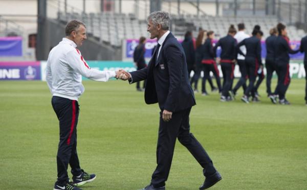 """Coupe de France - Patrice LAIR (PSG) : """"On est un peu déçu, mais pas abattu"""""""