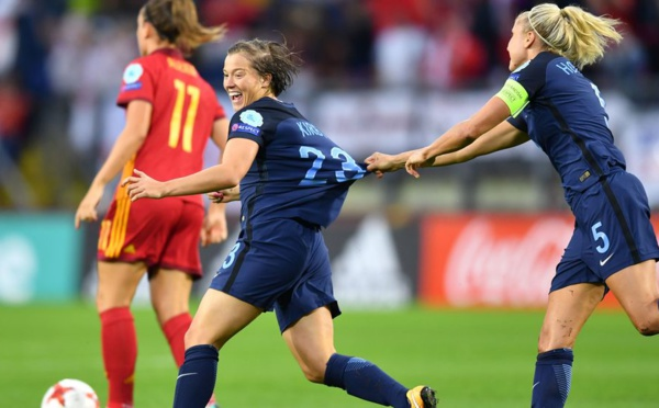 #WEURO2017 - Groupe D : L'ANGLETERRE a confirmé