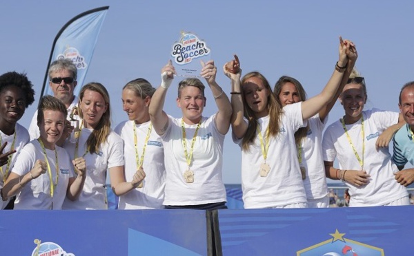 Beach Soccer - La Ligue GRAND EST remporte le premier challenge national