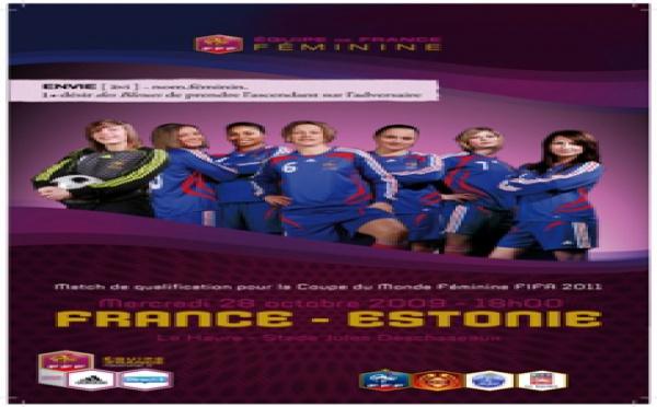 France - Estonie : venez supporter les Bleues
