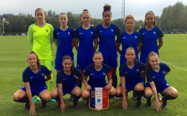 U17 - La FRANCE passe le tour de qualification sans souci