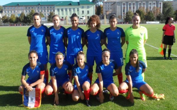 U19 - Les Bleuettes démarrent en trombe