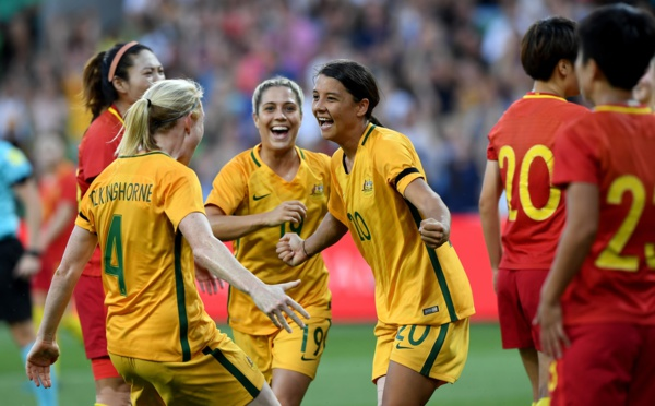 International - L'AUSTRALIE inflige un sévère 3-0 à la CHINE