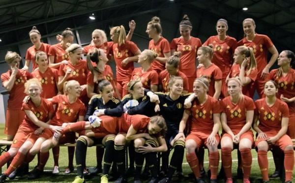 BELGIQUE - L'équipe nationale féminine aura son propre maillot