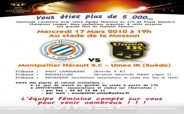 Lyon et Montpellier jouent une place en demi-finale