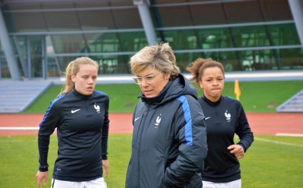 U16 - Les vingt joueuses pour le tournoi de Développement UEFA