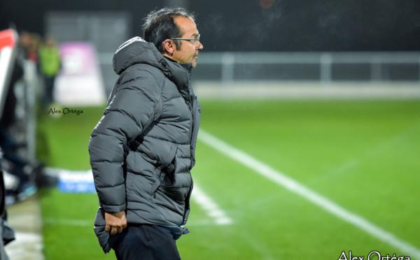 """#D1F - Réactions après OL - MHSC : Jean-Louis SAEZ (Montpellier) : """"Il n'y a pas à rougir"""""""