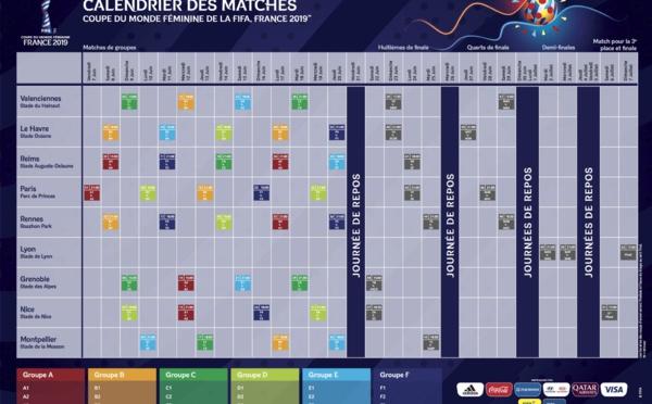 Le football au f minin - Calendrier coupe du monde u17 ...