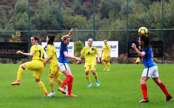 #TurkishWomensCup - L'équipe de FRANCE B déroule devant le KOSOVO