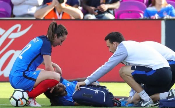 Bleues - Aïssatou TOUNKARA a pu rentrer avec l'Equipe