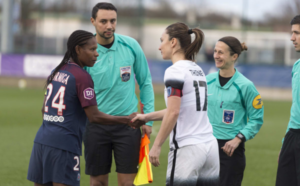 #D1F - Gaëtane THINEY (Paris FC) : « Il faut qu'on continue de construire l'équipe »