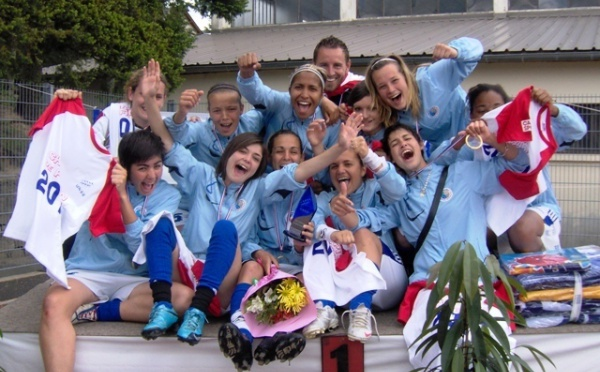 Finale nationale UNSS cadettes foot à 7 : Carpentras champion