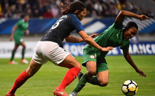Bleues - La FRANCE écrase le NIGERIA (8-0)